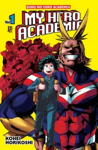 Manga My Hero Academia - Volumes 1 ao 5