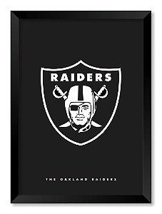 Quadro The Oakland Raiders