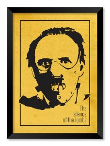 Quadro The Silence Of The Lambs