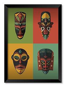 Quadro Máscaras Africanas