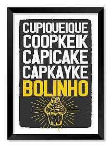 Quadro Cupcake Bolinho