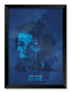 Quadro Three Colours Blue