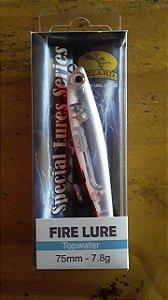 Isca Artificial Lizard Fire Lure 75mm