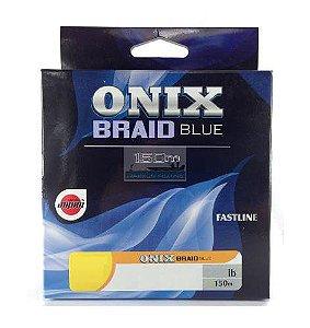 Linha Multifilamento Onix Braid Blue 150m