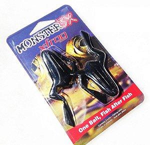Isca Artificial Monster 3X Sapo X-Frog Soft - Cartela 2 unidades