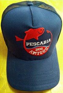 Boné Pescaria dos Amigos - Azul