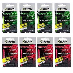 Luz Química Crown Chemical Light c/ 2 Bastones