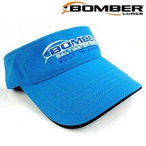 Boné Viseira Bomber - Blue