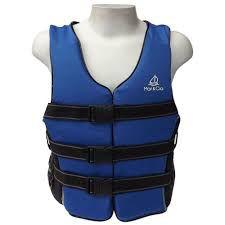 Colete Salva Vidas Mar & Cia Classe V Azul Homologado