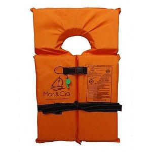 Colete Salva Vidas Mar & Cia Classe II Homologado