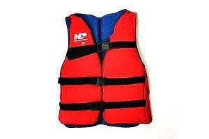 Colete de Flutuação Salva Vidas HP 100 Kg Vermelho