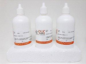 Kit Minoxidil Completo com 3 frascos de 100mL