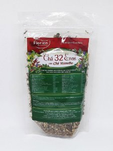 Chá 32 ervas com chá vermelho 100 g