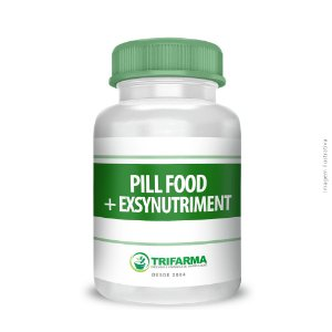 PILL FOOD + EXSYNUTRIMENT (SILICIO ORGÂNICO)