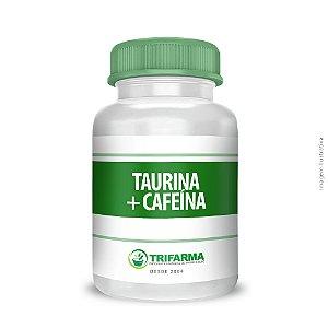 TAURINA + CAFEÍNA  60 cápsulas