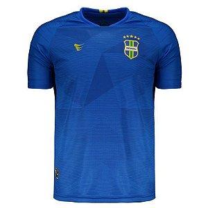 Camisa Super Bolla Brasil Pro Jogador 2018 Azul