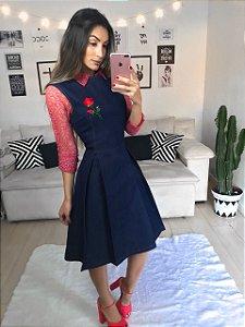 vestido Rebeca  (produto não acompanha a camisa)