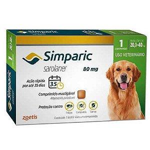 Simparic 80 mg 20,1 a 40 kg