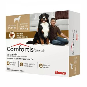 Comfortis 1620 mg de 27 a 45 kg