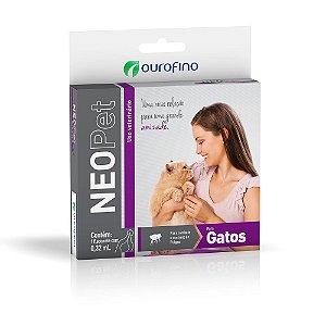 Antipulgas Neopet Ourofino Gatos 0,32ml