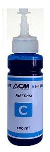 REFIL DE TINTA EPSON AZUL L200 L220 L110 L355 L555, Compatível