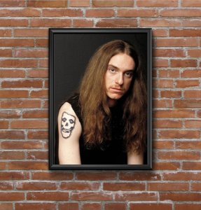 Quadro Placa Decorativo Cliff Burton