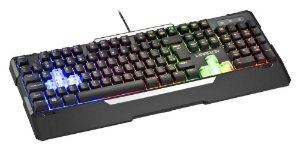 Teclado Gamer Semi Mecânico Rainbow - TC 208