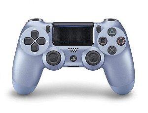 Controle PS4 - Azul Titanium