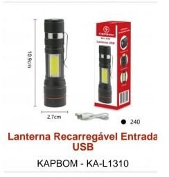 lanterna recarregável l1310