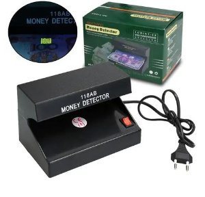 Leve10 Money Detector Identificador De Notas Cédulas - Money Money
