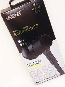 Fone De Ouvido Com Microfone Le-0205 Bass