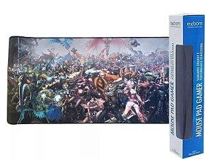 Mousepad Gamer Grande Teclado Mouse Speed Edition Exbom  90X40