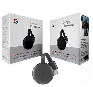 Chromecast 3 1080p BY Google Receptor Conversor Smart TV