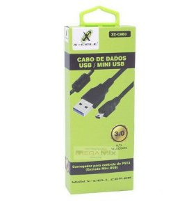 Cabo x-cell de dados USB / Mini USB