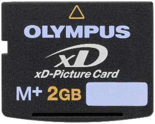 Cartão 2gb Olympus Xd Picture Card Type M-xd2gb