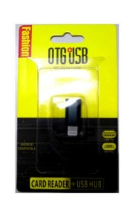 adaptador OTG-USB Card Reader Hub - iPhone Fashion