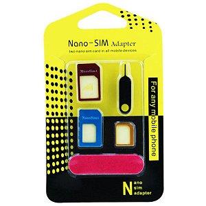 Adaptador 4-in-1 Nano SIM Adapter