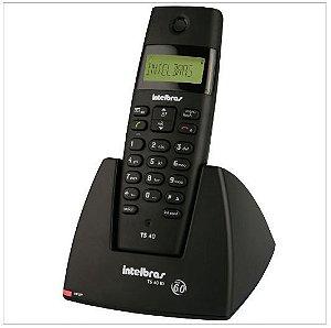 Telefone Sem Fio Intelbras Ts 40 Id 6.0 C/ - Intelbras