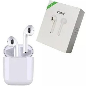 Fone De Ouvido Pequeno Bluetooth I8 Mini