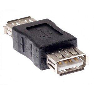 Conector de Emenda USB 2.0 Fêmea Para USB 2.0 Fêmea