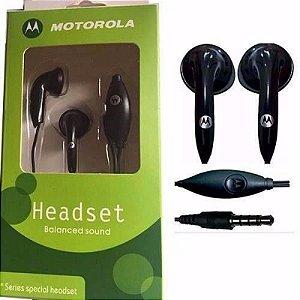 Fone De Ouvido Motorola Headset - SSH