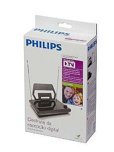 Antena Digital Interna Philips Sdv1125 Tv - Hdtv Uhf Vhf Fm