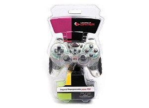 Joypad Transparente P/ Playstation 2 Leadership 6813