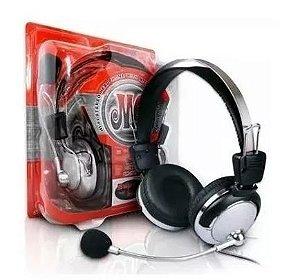 headset  Fone De Ouvido Com Microfone Johnystar 301m Para Jogos