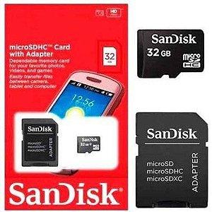Cartão De Memória 32gb - SanDisk