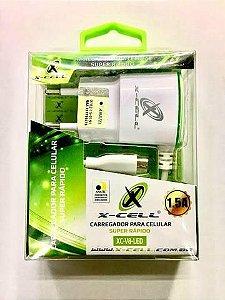 Carregador V8 - X-CELL - XC-V8-LED