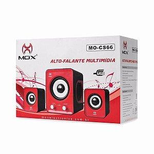 Alto Falante Multimídia Estéreo 2.0 Mo-cs66