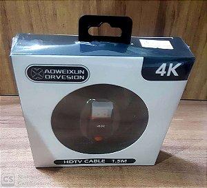 Cabo HDMI 4k WH7758 - 1.5 METROS
