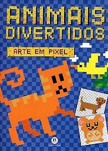 Livro Animais Divertidos - Col. Arte Em Pixel