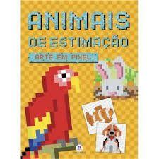 Livro Animais de estimação - Arte em pixel